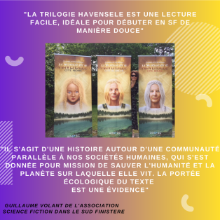 Lire Havensele permet de s'évader loin de la crise sanitaire actuelle, comme une fenêtre sur une réalité parallèle à la notre, un récit présent sur le monde d'avant.